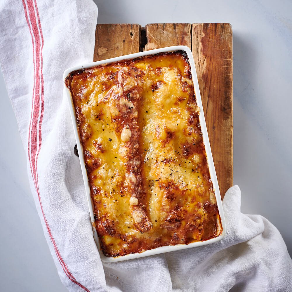 flava and co frozen beef lasagne