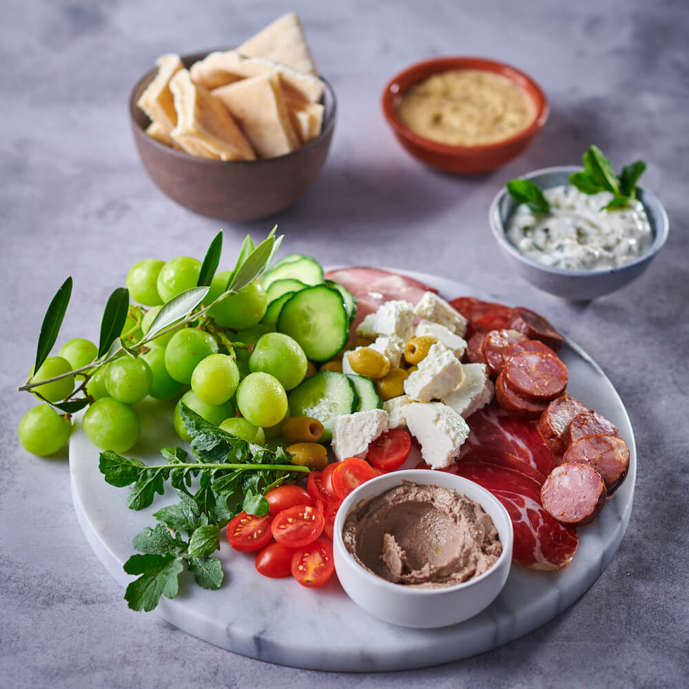 flava and co meze board