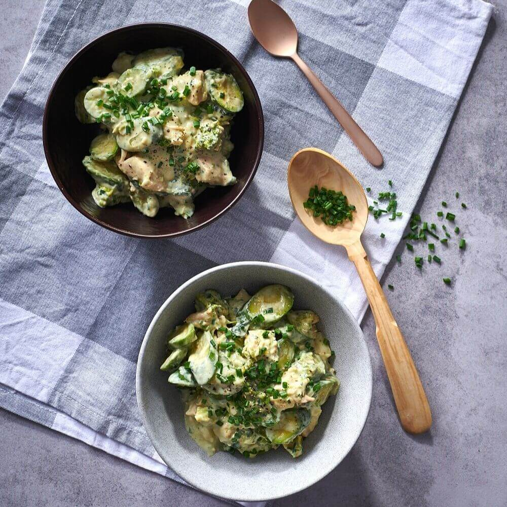 Low Carb Chicken And Broccoli Bowl