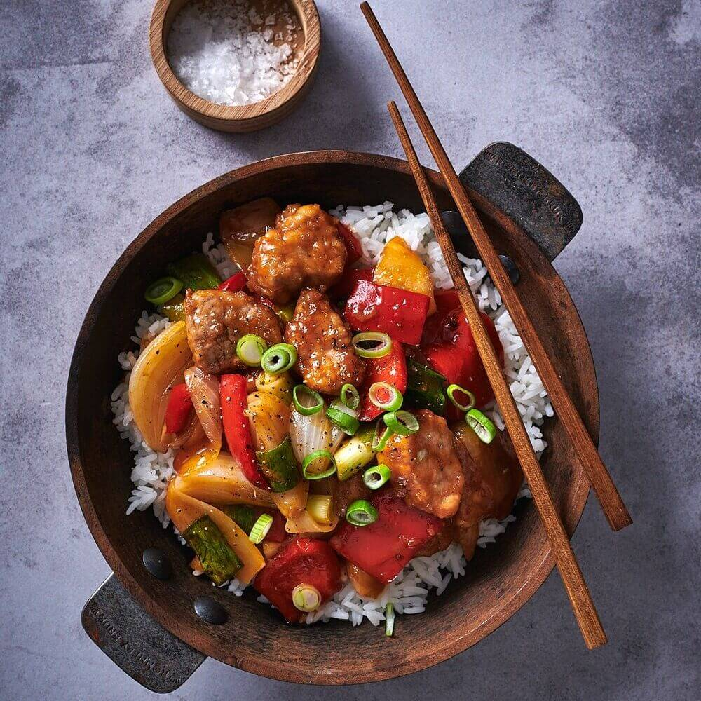 Chinese Sweet & Sour Pork Or Chicken